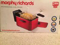 NEW Morphy Richards 3L Fryer