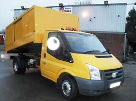 2010 FORD TRANSIT 115PS TIPPER ARBORIST TREE SURGEON WASTE COLLECTION L@@K!!