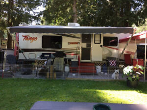 For sale: 2007, 26.5 ft Tango Travel Trailer $17,000 obo.