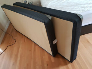 Sealy twin low profile box springs for king size bed