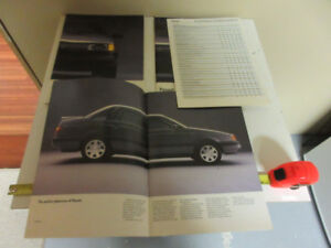 1992 VW PASSAT BROCHURE