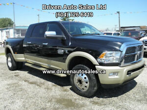 2012 Dodge Ram 3500 Long Horne Diesel Mega Cab 4x4 Dually