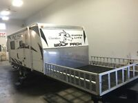 2010 Forest River Cherokee Wolf Pack 21DFWP toy hauler