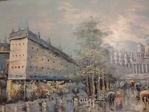 Older Oil Painting  London Ontario image 5
