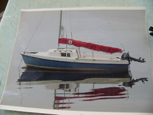 DS-16 Sailboat with retractable keel