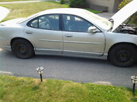 2000 Pontiac Grand Prix GTP Supercharged Fully Loaded.