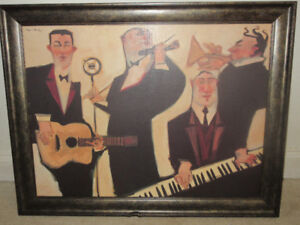 """Large Clifford Bailey quality print - """"Simple Song"""""""