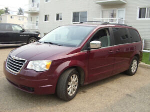 2008 Chrysler Town Country Touring  Van, $6300 Tel:780-908-8589