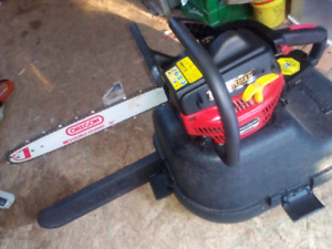 Homelite 45cc chainsaw and hardcase $150