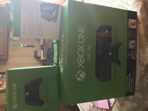 Xbox one and accessories