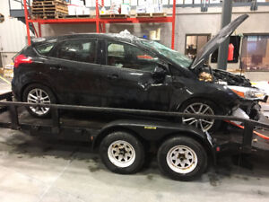 Parting out a 2015 Ford Focus