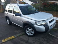 LEFT HAND DRIVE Land Rover Freelander Special Edition 2005r LHD