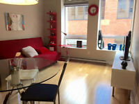 FURNISHED APPARTMENT (DOWNTOWN MONTREAL) CLOSE TO METRO