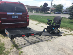CUSTOM WHEELCHAIR OR SCOOTER CARRIER