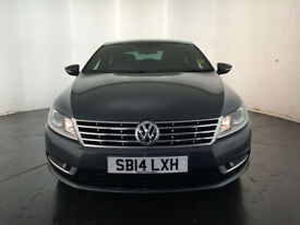 2014 VOLKSWAGEN CC GT BLUEMOTION TDI AUTO 1 OWNER SERVICE HISTORY FINANCE PX