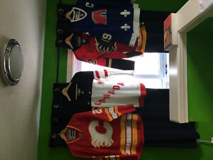 NHL JERSEY X 3 AND CANADA JERSEY