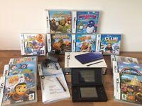 COBALT BLUE NINTENDO DS BOXED