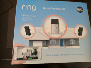 RING home security system - brand new in box