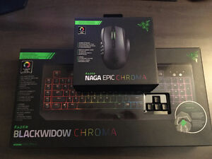 Razor Keyboard and mouse