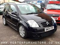 2004 CITROEN C2 1.6i 16V GT long MOT REDUCED