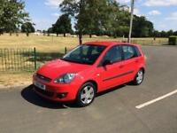 2006 56 Ford Fiesta 1.4 Zetec 5dr Red VGC