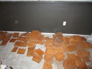 Reclaimed Oak Parquet Flooring - various sizes