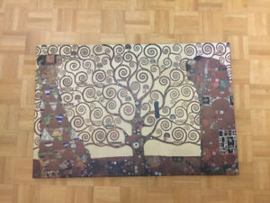 "The Tree of Life by Klimt, Canvas, 24"" x 36"""