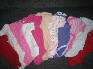 Girl's clothes NB-1 yr.