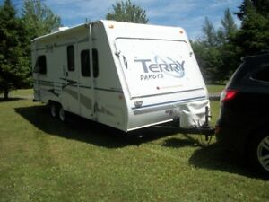 Perfect start to tiny house or camp on wheels!