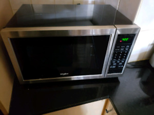 Whirlpool counter top microwave