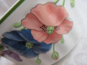 vintage Villeroy Boch porcelaine.Germany Vilbofour Amapola