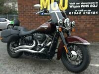 Harley Davidson Heritage Softail 114 FLHCS 19/68 1039 miles
