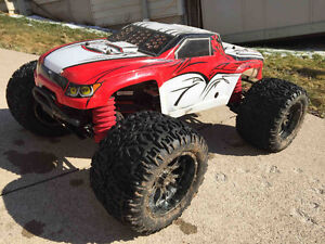RC 1/ 8 Losi XXL-2 Gas Monster Truck