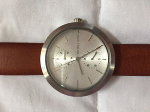 Women's Michael Kors Leather Watch