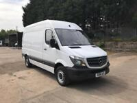 Mercedes-Benz Sprinter 313 CDI MWB HIGH ROOF VAN EURO 4/5 DIESEL MANUAL (2016)