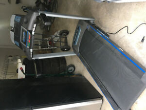 Horizon electric treadmill ct71 fully working foldible