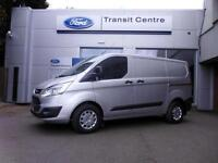 NEW Ford Transit Custom 2.0TDCi 130PS 290 L1H1 Trend in Silver+ A/C, LED- Onsite