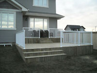 DECKS & FENCES!