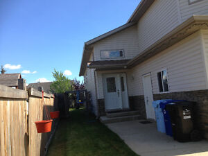 House available immediately including utility in Timberlea