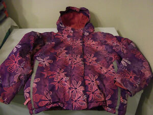 GIRLS USED SIZE 8 WINTER JACKET