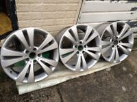 "4 x GENUINE 18"" VW CHICAGO ALLOYS 235 40 18 FUNDO EOS SCIROCCO PASSAT LEON VRS CADDY AUDI CHEAP! PX"