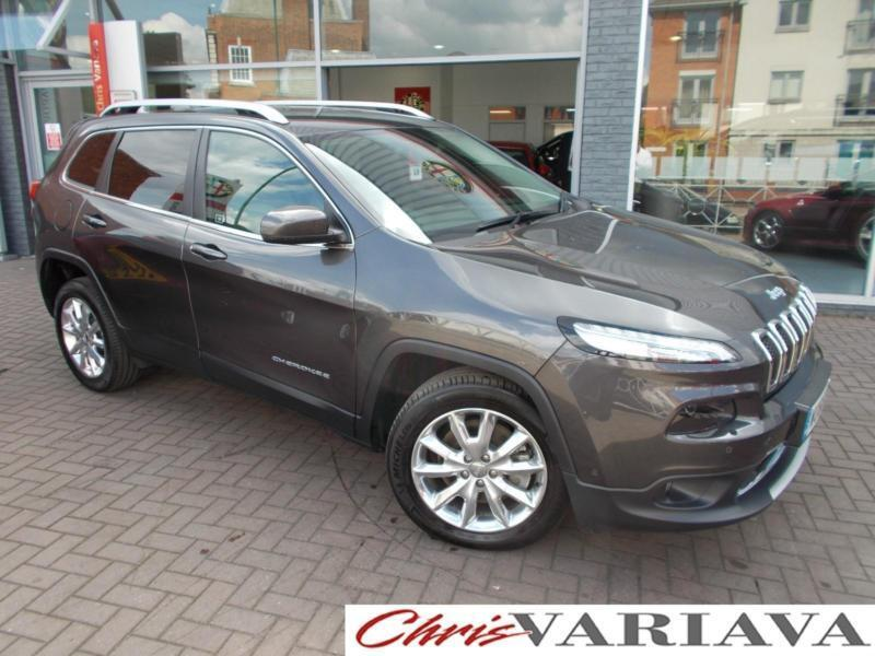 2016 Jeep Cherokee 2.0 Multijet Limited 5dr 4X4 ** TOP OF THE RANGE SPEC + EXCEL