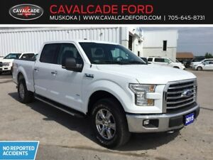 2015 Ford F150 4x4 - Supercrew XLT CERTIFIED USED TRUCK!!
