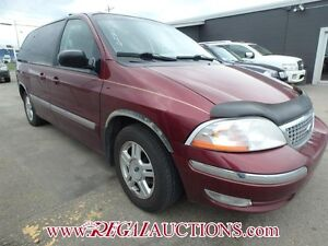 2001 FORD WINDSTAR VAN  4D WAGON