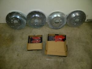 2011/2012 Chevy Cruze Front  & Rear Rotors & Pads