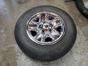 LT275/65R18 Michelin Tires with Rims for Toyota Tundra