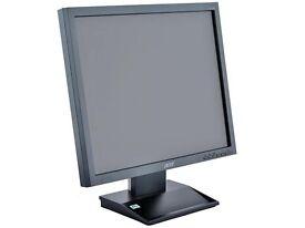 "17"" LCD Screen Computer Display / Monitor VGA DVI , Home & Office use."