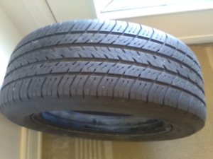 4 michelin tires with rims. Size. P195/60R15 87t All season