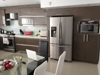 NEW LUXURY CONDO IN THE CENTER OF LAVAL FOR RENT.
