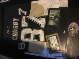 Sidney Crosby signed authentic jersey
